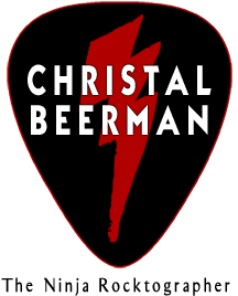 Christal Beerman ⚡ The Ninja Rocktographer